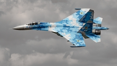 Photo ID 231519 by David Novák. Ukraine Air Force Sukhoi Su 27P1M,