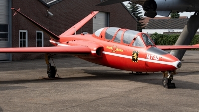 Photo ID 231540 by Jan Eenling. Belgium Air Force Fouga CM 170 Magister, MT9