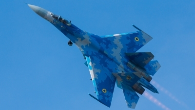 Photo ID 231564 by Hans Rödel. Ukraine Air Force Sukhoi Su 27S, 39 BLUE