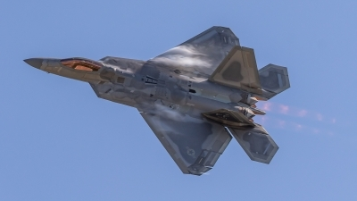 Photo ID 231552 by Paul Varner. USA Air Force Lockheed Martin F 22A Raptor, 08 4171