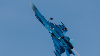 Photo ID 231618 by Hans Rödel. Ukraine Air Force Sukhoi Su 27S, 39 BLUE