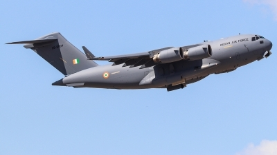 Photo ID 231674 by Ruben Galindo. India Air Force Boeing C 17A Globemaster III, CB 8004