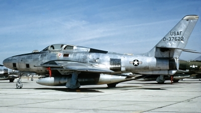 Photo ID 231740 by Gerrit Kok Collection. USA Air Force Republic RF 84F Thunderflash, 53 7622