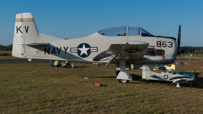 Photo ID 231664 by Hans Rödel. Private Private North American T 28B Trojan, NX377WW