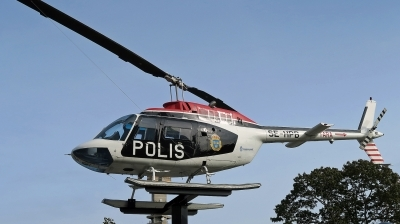 Photo ID 232204 by D. A. Geerts. Sweden Police Agusta Bell Hkp6B JetRanger AB 206B, 06045