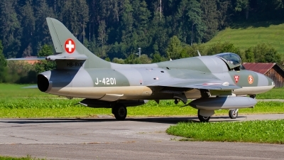 Photo ID 232608 by Agata Maria Weksej. Private Amici del Hunter Hawker Hunter T68, HB RVR