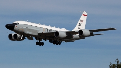 Photo ID 231844 by Carl Brent. USA Air Force Boeing RC 135V Rivet Joint 739 445B, 64 14846