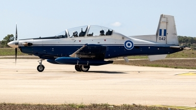 Photo ID 232044 by Ray Biagio Pace. Greece Air Force Raytheon AT 6A Texan II, 042