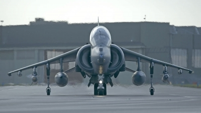 Photo ID 298 by Alan Worsley. UK Air Force British Aerospace Harrier T10,