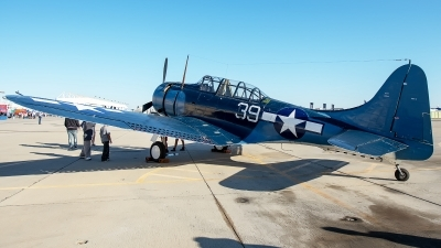 Photo ID 233532 by W.A.Kazior. Private Planes of Fame Air Museum Douglas SBD 5 Dauntless, NX670AM