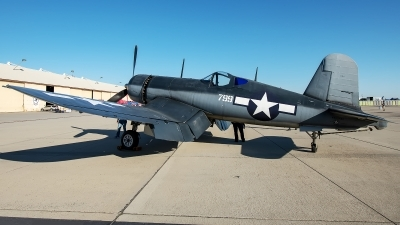 Photo ID 233531 by W.A.Kazior. Private Planes of Fame Air Museum Vought F4U 1A Corsair, NX83782