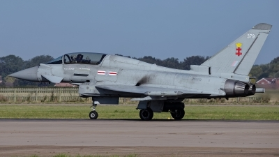 Photo ID 232090 by Rainer Mueller. UK Air Force Eurofighter Typhoon T3, ZK379