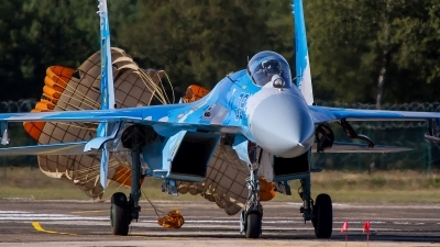 Photo ID 232228 by M. Hauswald. Ukraine Air Force Sukhoi Su 27S, 39 BLUE