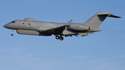 Photo ID 232264 by Rainer Mueller. UK Air Force Bombardier Raytheon Sentinel R1 BD 700 1A10, ZJ694