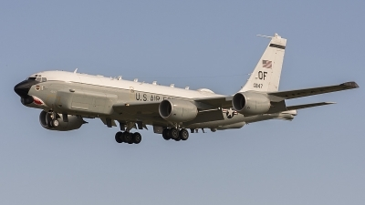 Photo ID 232365 by David Schmidt. USA Air Force Boeing RC 135U Combat Sent 739 445B, 64 14847