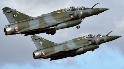 Photo ID 232303 by Nicholas Carmassi. France Air Force Dassault Mirage 2000D, 654