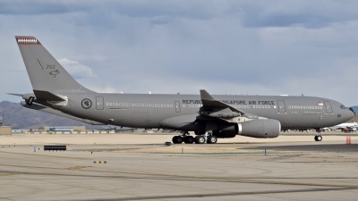 Photo ID 232483 by Gerald Howard. Singapore Air Force Airbus A330 243MRTT, 762