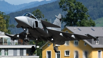 Photo ID 232443 by Thomas Ziegler - Aviation-Media. Sweden Air Force Saab JAS 39C Gripen, 39223