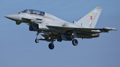 Photo ID 232504 by Rainer Mueller. UK Air Force Eurofighter Typhoon T3, ZK379