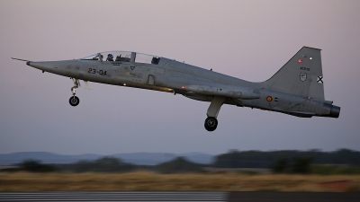 Photo ID 233026 by Fernando Sousa. Spain Air Force Northrop SF 5M Freedom Fighter, AE 9 10