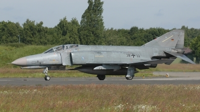 Photo ID 232545 by Klemens Hoevel. Germany Air Force McDonnell Douglas F 4F Phantom II, 38 32