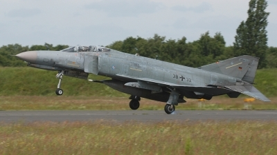 Photo ID 232546 by Klemens Hoevel. Germany Air Force McDonnell Douglas F 4F Phantom II, 38 32