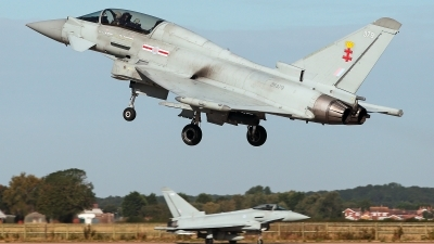 Photo ID 232590 by Carl Brent. UK Air Force Eurofighter Typhoon T3, ZK379