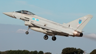 Photo ID 232591 by Carl Brent. UK Air Force Eurofighter Typhoon FGR4, ZK362