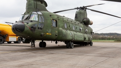 Photo ID 232627 by Jan Eenling. Netherlands Air Force Boeing Vertol CH 47D Chinook, D 106