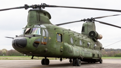 Photo ID 232629 by Jan Eenling. Netherlands Air Force Boeing Vertol CH 47D Chinook, D 102