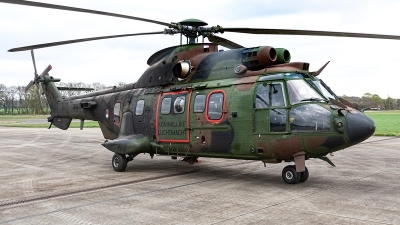 Photo ID 232653 by Jan Eenling. Netherlands Air Force Aerospatiale AS 532U2 Cougar MkII, S 458