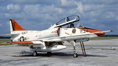 Photo ID 232866 by Gerrit Kok Collection. USA Navy McDonnell Douglas TA 4J Skyhawk, 158124