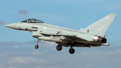 Photo ID 232712 by Carl Brent. UK Air Force Eurofighter Typhoon FGR4, ZK428