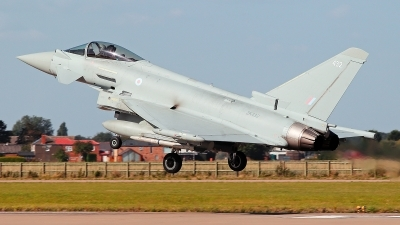 Photo ID 232713 by Carl Brent. UK Air Force Eurofighter Typhoon FGR4, ZK432