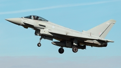 Photo ID 232714 by Carl Brent. UK Air Force Eurofighter Typhoon FGR4, ZK438