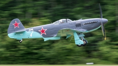 Photo ID 232698 by George Oakey, Jr.. Private Training Services Inc Yakovlev Yak 3U, N42YK