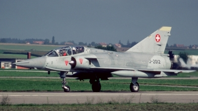 Photo ID 26349 by Sven Zimmermann. Switzerland Air Force Dassault Mirage IIIBS, J 2012
