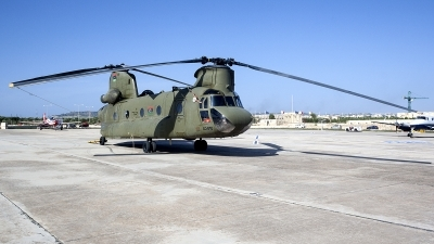 Photo ID 232729 by Ray Biagio Pace. Libya Air Force Boeing Vertol CH 47C Chinook, LC 010