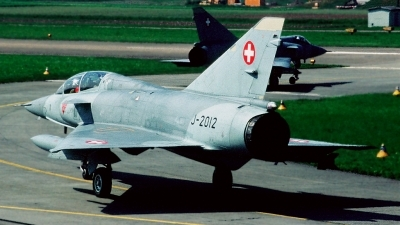 Photo ID 26453 by Sven Zimmermann. Switzerland Air Force Dassault Mirage IIIBS, J 2012