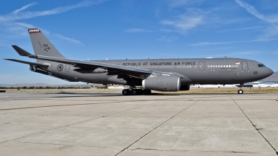 Photo ID 232752 by Gerald Howard. Singapore Air Force Airbus A330 243MRTT, 762