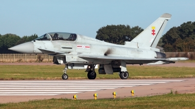 Photo ID 232769 by Carl Brent. UK Air Force Eurofighter Typhoon T3, ZK379