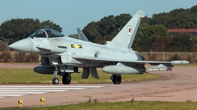 Photo ID 232771 by Carl Brent. UK Air Force Eurofighter Typhoon FGR4, ZK366