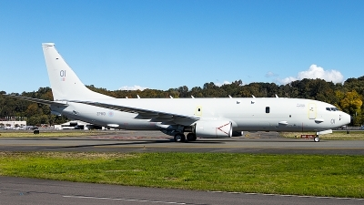Photo ID 232915 by Aaron C. Rhodes. UK Air Force Boeing P 8A Poseidon 737 800ERX, ZP801