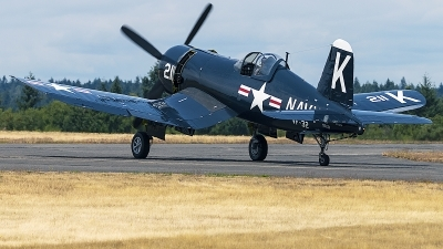 Photo ID 235103 by Aaron C. Rhodes. Private Erickson Aircraft Collection Vought F4U 7 Corsair, NX1337A