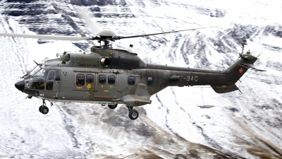 Photo ID 232793 by Sybille Petersen. Switzerland Air Force Aerospatiale AS 532UL Cougar, T 340