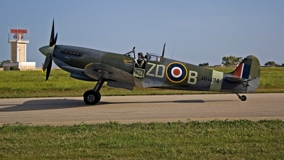Photo ID 232817 by Ray Biagio Pace. Private Old Flying Machine Company Supermarine 361 Spitfire LF IXc, G ASJV