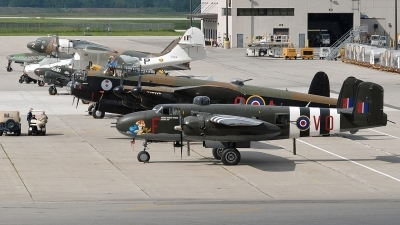 Photo ID 233001 by Aldo Bidini. Private Canadian Warplane Heritage Museum North American B 25J Mitchell, C GCWM