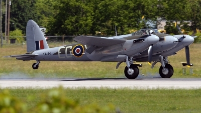 Photo ID 232835 by Aldo Bidini. Private Military Aviation Museum De Havilland DH 98 Mosquito FB 26, N114KA