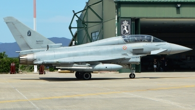 Photo ID 232788 by Nicholas Carmassi. Italy Air Force Eurofighter TF 2000A Typhoon EF 2000T, MM55095