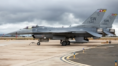 Photo ID 232800 by W.A.Kazior. USA Air Force General Dynamics F 16C Fighting Falcon, 93 0540
